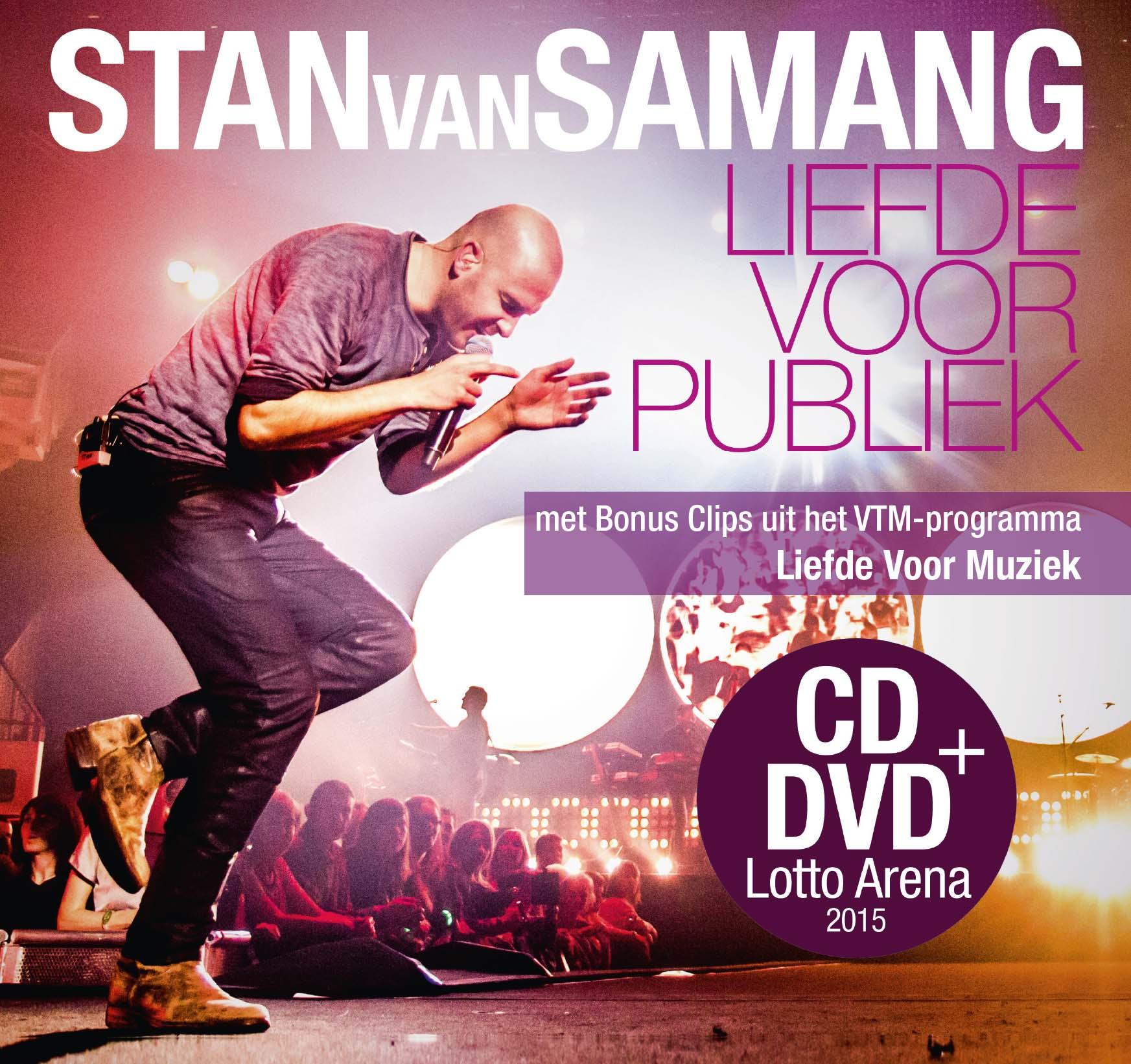 Liefde voor publiek Artwork DVD + CD